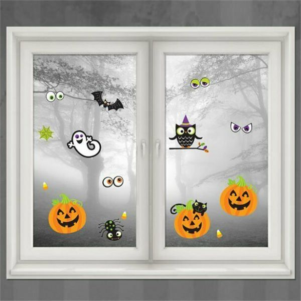 Halloween Family Friendly Window Decorations